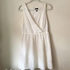 Nicole by Nicole Miller white lace dress